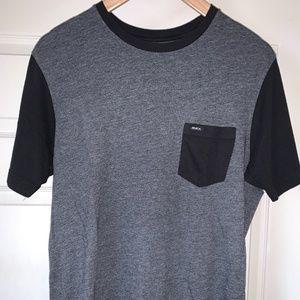 rvca crew neck t-shirt